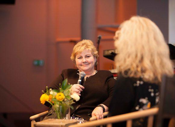 Statsminister Erna Solberg på JK Nordisk 2017