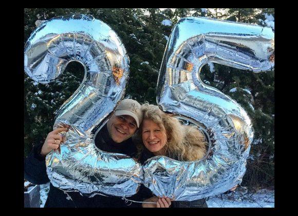 Anne og Stephan 25 år: Sølvbryllupstale